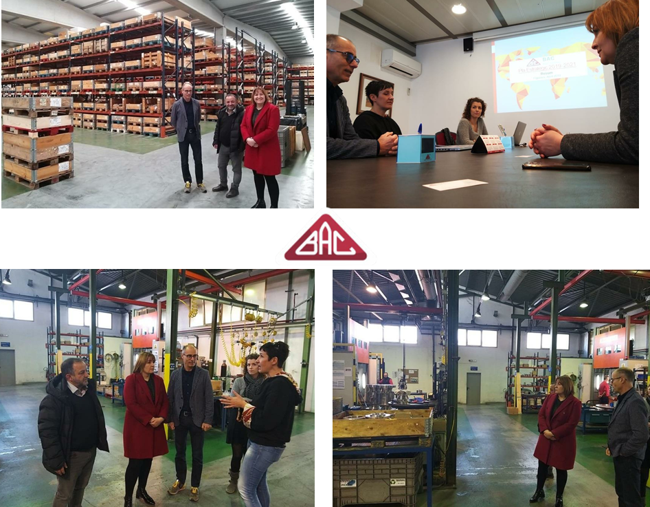 Visit of the Mayor of Figueres in BAC Valves