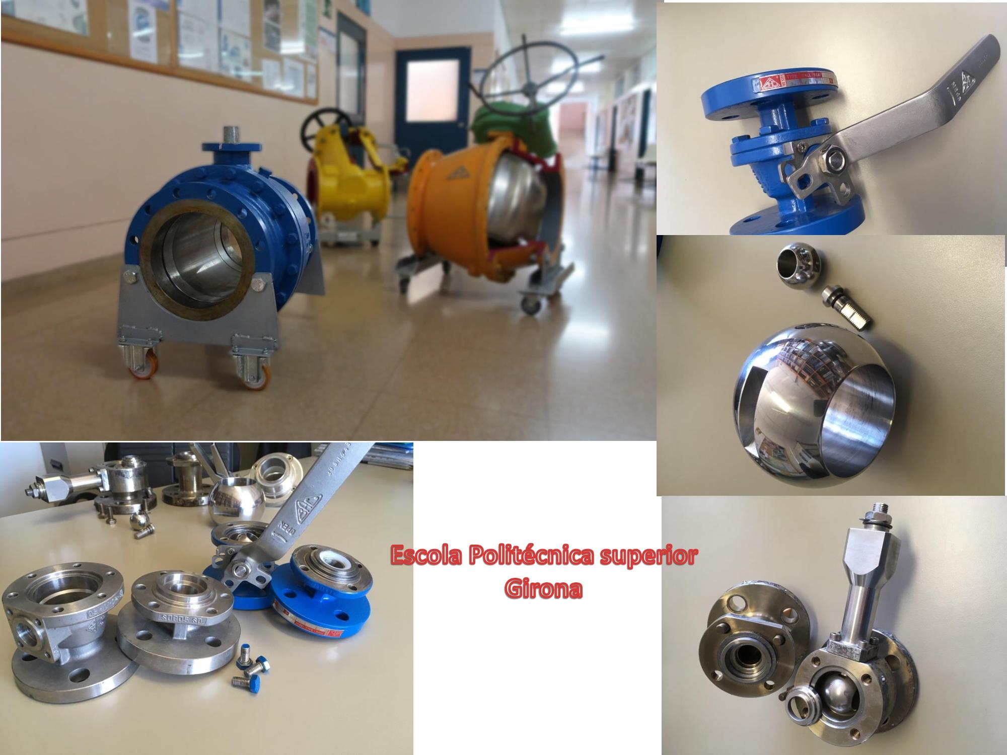 BAC valves cede válvulas a la Escuela politécnica superior de Gerona
